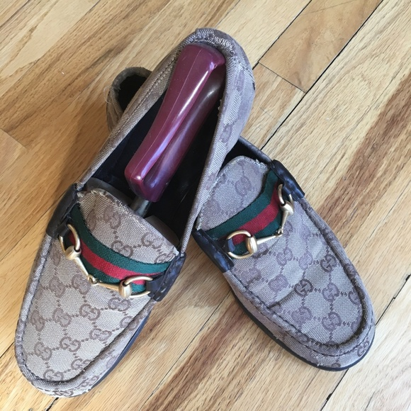Gucci Shoes - Gucci Logo Loafers